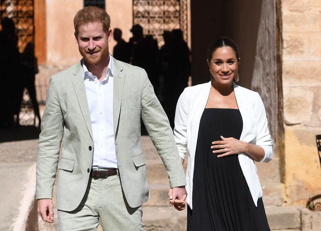 Książę Harry i księżna Maghan