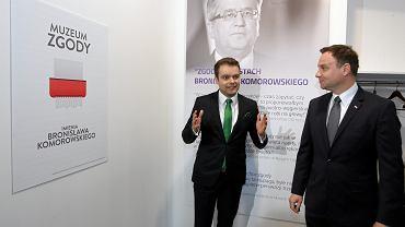 Rafał Bochenek i Andrzej Duda (2015 r.)