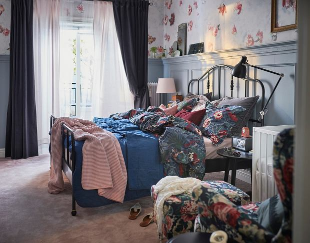 Sypialnia w stylu angielskim: pomysły i inspiracje