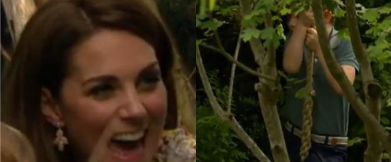 Książę George ocenił ogród księżnej Kate. Jego odpowiedź zaskoczyła Williama [WIDEO]