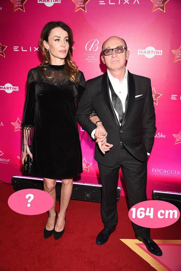 Zdjęcie numer 10 w galerii - Agnieszka Woźniak-Starak jest wyższa od męża prawie o głowę, ale rekordu nie ustanowiła. Te gwiazdy zakochały się w niższych partnerach