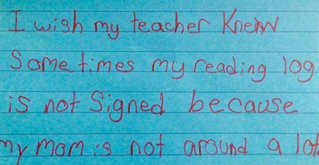 Pod hashtagiem #IWishMyTeacherKnew nauczyciele dzielą się najbardziej poruszającymi wyznaniami swoich uczniów.