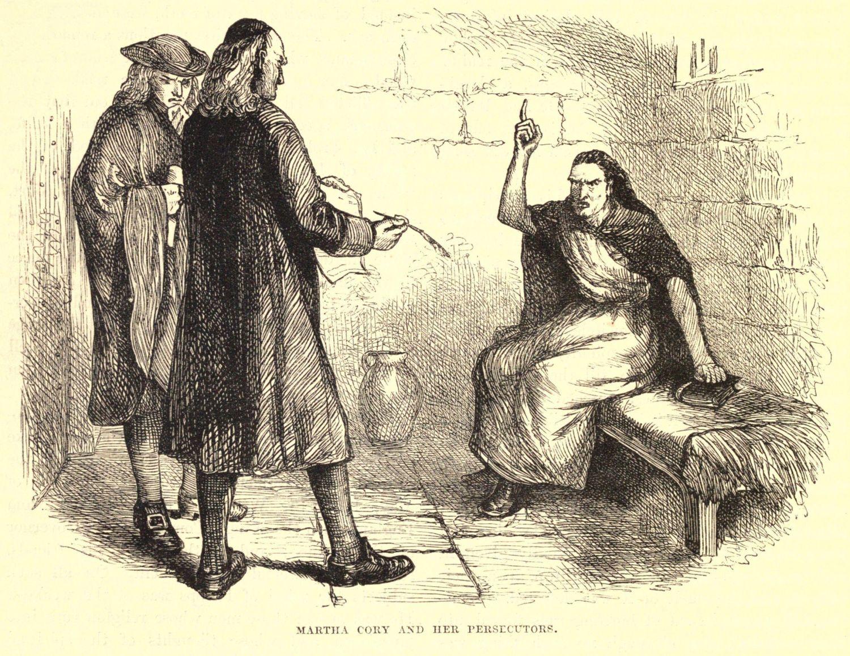 Martha Cory została skazana za czarownictwo i stracona 22 września 1692 roku (fot. Shutterstock)