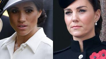 Meghan Markle nie była na pogrzebie księcia Filipa. Powód? Wcale nie ciąża. Zdecydowała księżna Kate