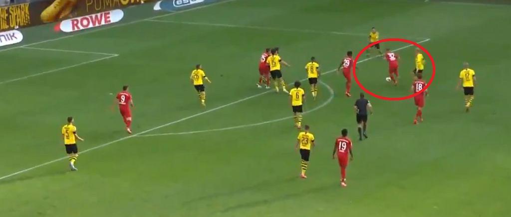 Genialny gol Joshui Kimmicha z Bayernu Monachium