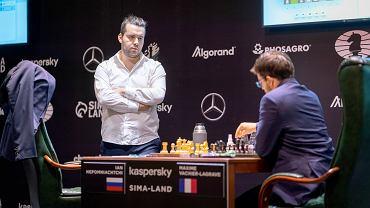 Jan Niepomniaszczij na turnieju pretendentów w Jekaterynburgu