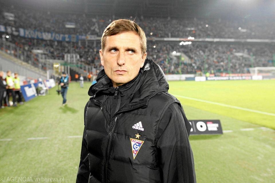 Marcin Brosz, trener Górnika Zabrze