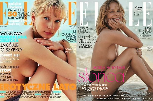 Magdalena Cielecka dla Elle