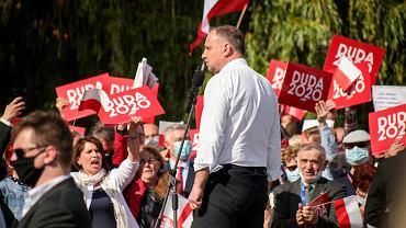 Andrzej Duda straszy