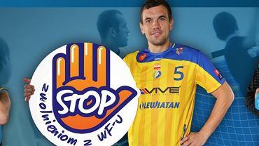 """Vive Targi Kielce apeluje """"Stop zwolnieniom z WF-u"""". Od lewej: Bogdan Wenta, Michał Jurecki i Sławomir Szmal"""