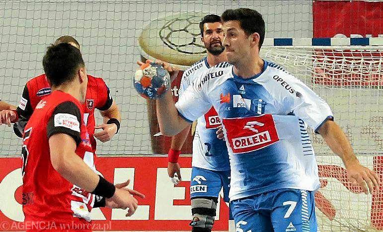 Wrzesień 2015 r. PGNiG Superliga, piłka ręczna. Orlen Wisła Płock - MMTS Kwidzyn 31:23