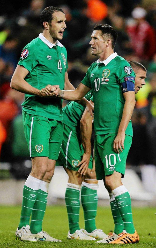 Irlandczycy po golu zaczęli się motywować. Chcieli zdobyć zwycięską bramką