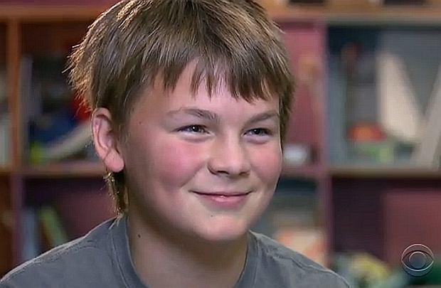 12-letni Leon jest zachwycony protezą dłoni
