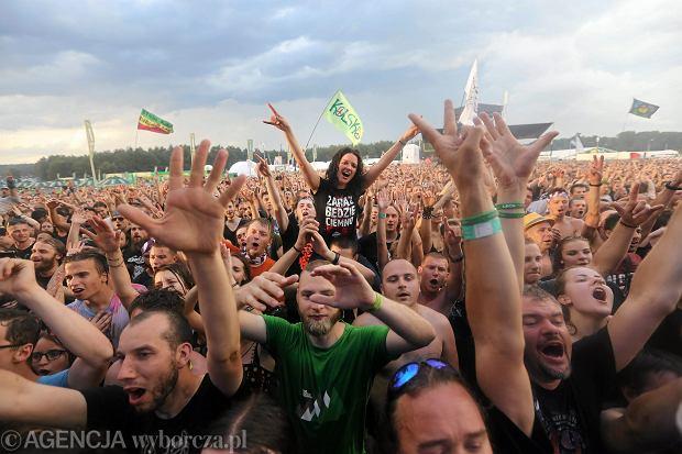 Pol'and'rock Festival, dawny Przystanek Woodstock. Kostrzyn nad Odrą, 3 sierpnia 2018