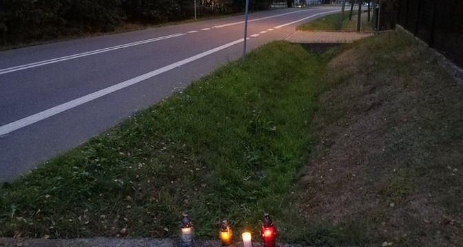 Miejsce wypadku Bjorga Lambrechta