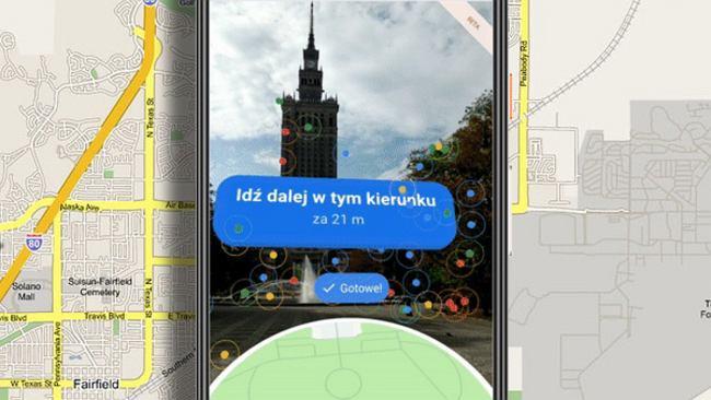 Mapy Google z funkcją Live View. Smartfon wreszcie pokaże praktyczną rzeczywistość rozszerzoną