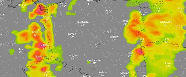 Gdzie jest burza? IMGW prognozuje wyładowania na wschodzie i zachodzie