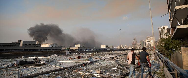 Wybuch w Bejrucie. Premier: O zagrożeniu było wiadomo od 2014 roku