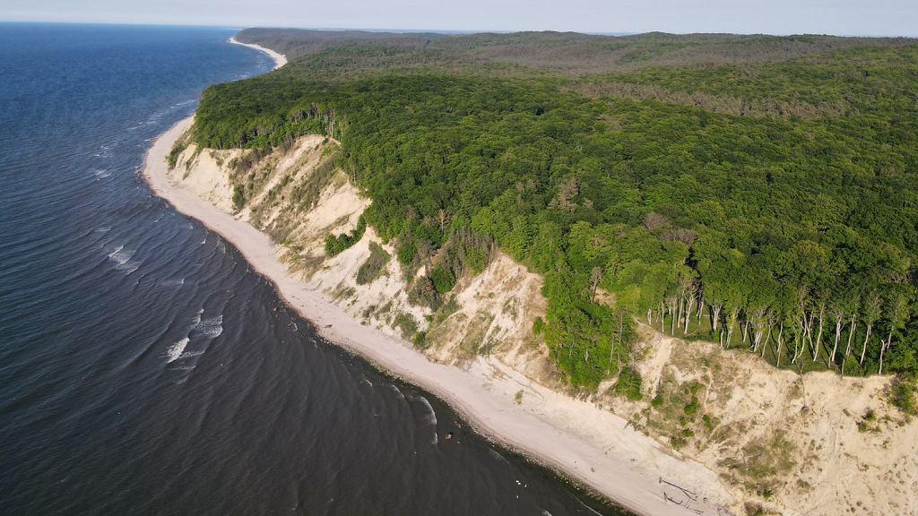 Wybrzeże klifowe wyspy Wolin - najwyższe pasmo polskich klifów. Dzięki temu, iż od ponad 60 lat objęte jest ochroną prawną (Woliński Park Narodowy), podziwiać można tutaj naturalne piękno tego nieprzekształconego ludzką działalnością krajobrazu. Dzięki temu stanowi doskonały obiekt, na którym od połowy lat 70-tych badacze z Instytutu Geoekologii i Geoinformacji UAM w Poznaniu prowadzą badania naukowe.
