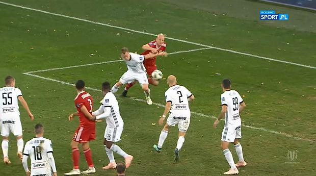 Kontrowersje w meczu Pucharu Polski pomiędzy Piastem Gliwice i Legią Warszawa