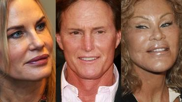Daryl Hannah, Bruce Jenner, Jocelyn Wildenstein