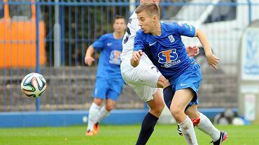 Lech Poznań - Pogoń Szczecin 0:0 w sparingu rozegranym we Wronkach. Niklas Zulciak