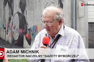 Michnik: Krzysztof Miller przewidywał przyszłość. Mural na Czerskiej dla słynnego fotografa