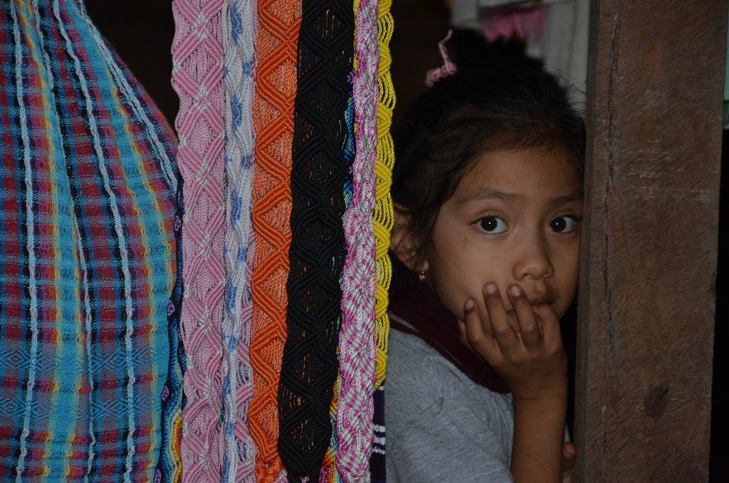 Dziewczynka w Chiapas