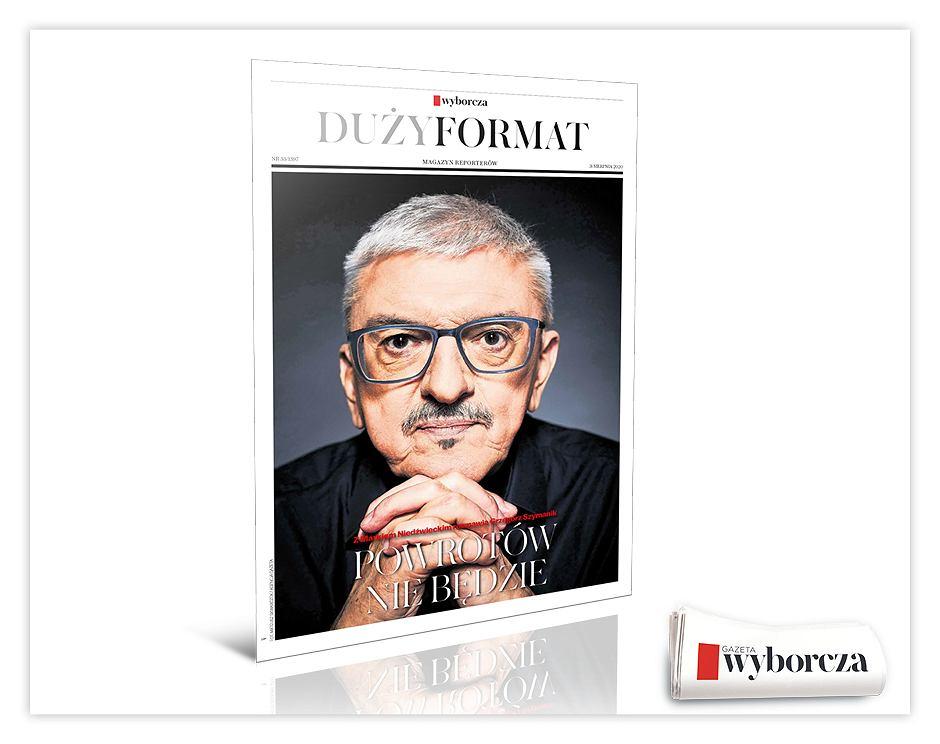 Magazyn reporterów 'Duży Format' w poniedziałek 31 sierpnia w 'Wyborczej'.