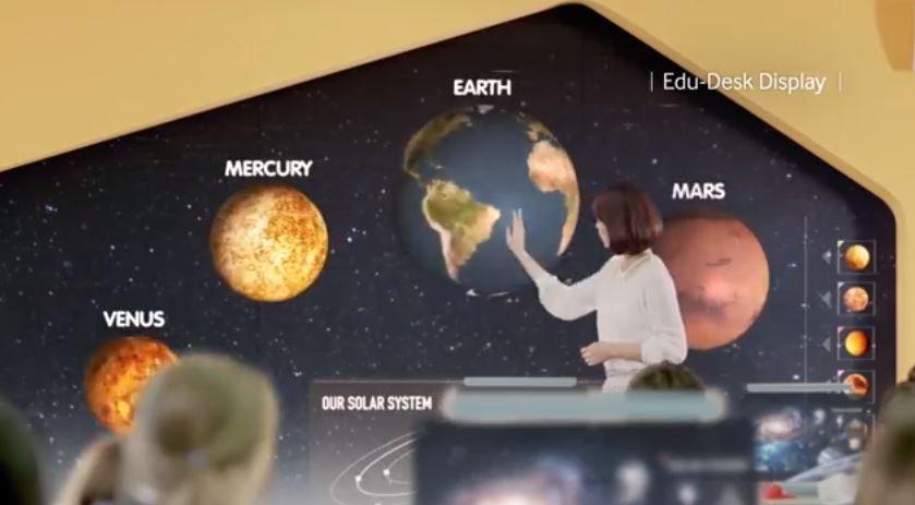 Wizja przyszłości według Samsunga - wszędzie wyświetlacze