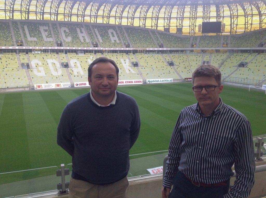 Adam Mandziara oraz Maciej Bałaziński