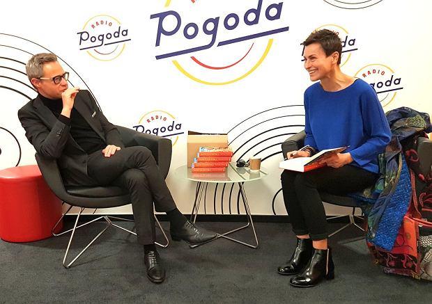 Danuta Stenka i Łukasz Maciejewski w Radiu Pogoda