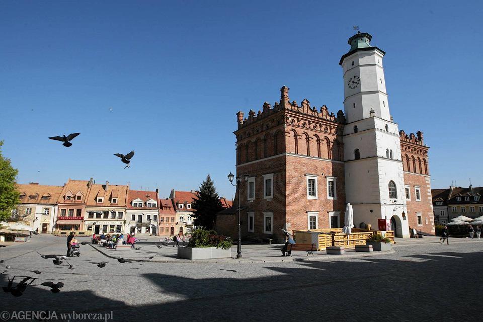 Sandomierz, 26 kwietnia 2016 rok, ratusz