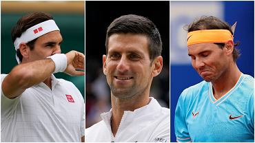 Roger Federer, Novak Djoković i Rafael Nadal