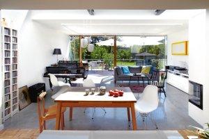 Wnętrza: dom w Puszczykowie