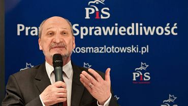 Antoni Macierewicz w Bydgoszczy