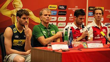 Bruno Rezende, Bernardo Rezende, Michał Winiarski i Stephane Antiga