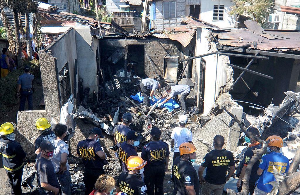 Katastrofa awionetki w Manili