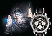Zegarki : kosmiczna kolekcja, zegarki, moda męska, 24 maja 1962r. Scott Carpenter trzykrotnie okrążył Ziemię z zegarkiem  Breitling Navitimer na nadgarstku