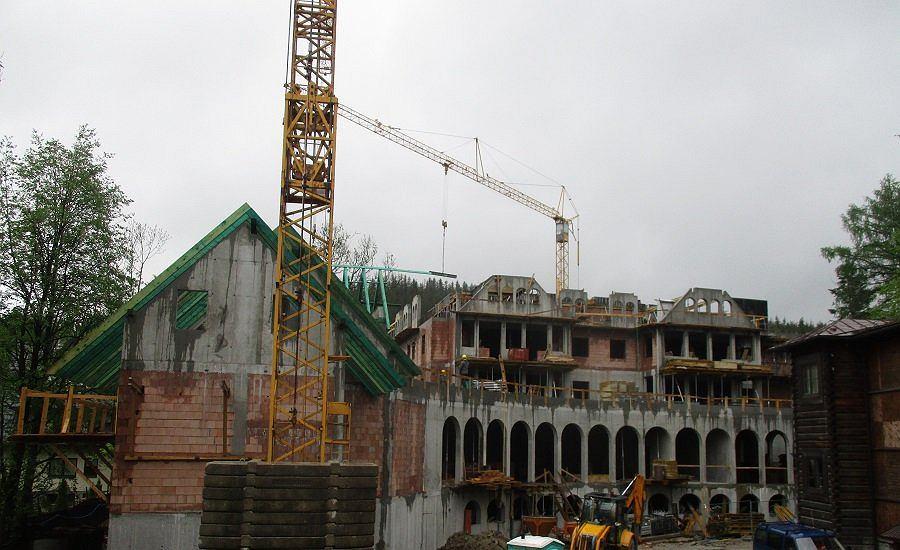 Projekt hotelu powstającego w Zakopanem w miejscu zabytkowego pensjonatu