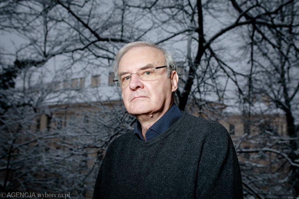 Prof. Andrzej Cechnicki, psychiatra