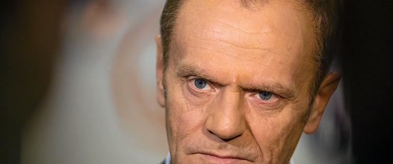 Tusk skomentował najpopularniejsze hasło protestów