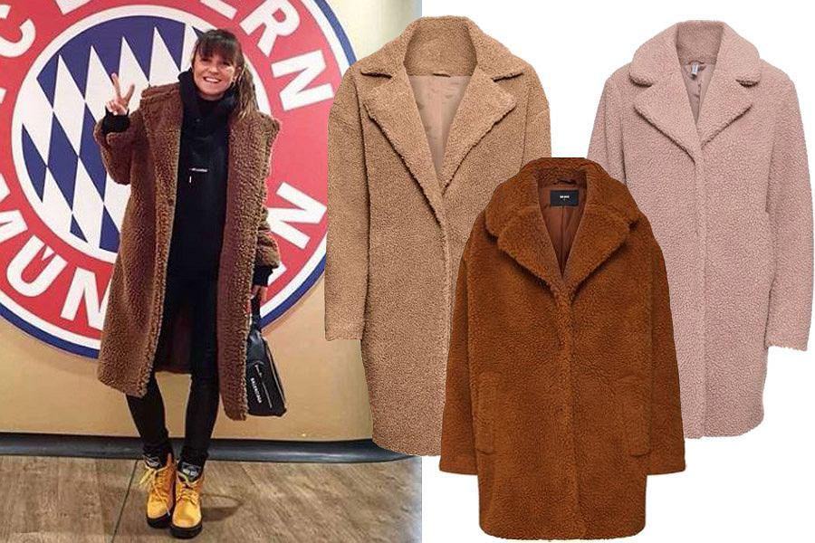 ciepły płaszcz na zimę / mat. partnera
