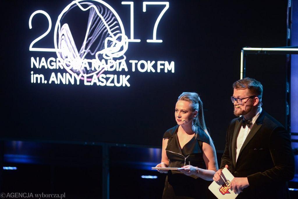 7 Gala nagrody Radia TOK FM im. Anny Laszuk za 2017 rok .