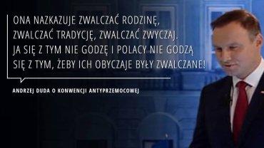 Andrzej Duda na debacie prezydenckiej