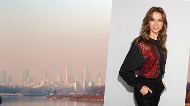 Aktorka pozywa Warszawę i Skarb Państwa za smog