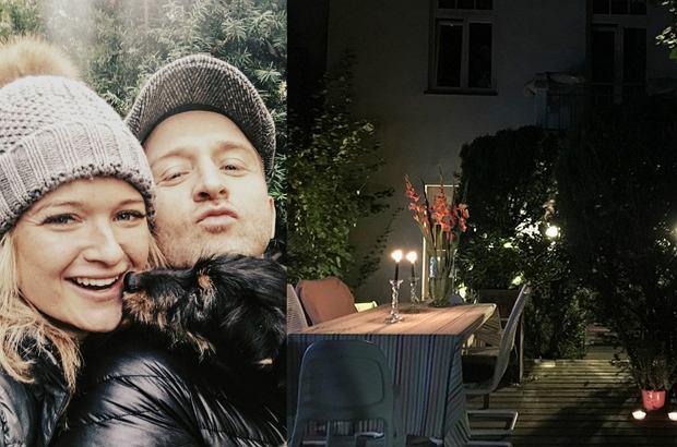 Zdjęcie numer 0 w galerii - Borys Szyc z partnerką uwili sobie romantyczne gniazdko. Największe wrażenie robi TEN ogród i... drogie gadżety