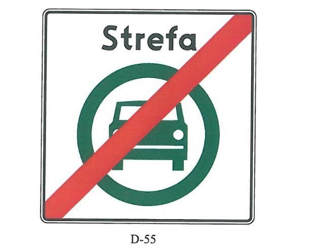 Znak D-55 (projekt)