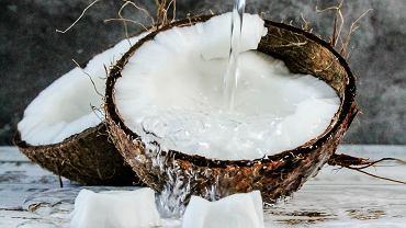 Woda kokosowa - zalety