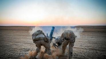 10.09.2018, amerykańscy  żołnierze w Syrii.